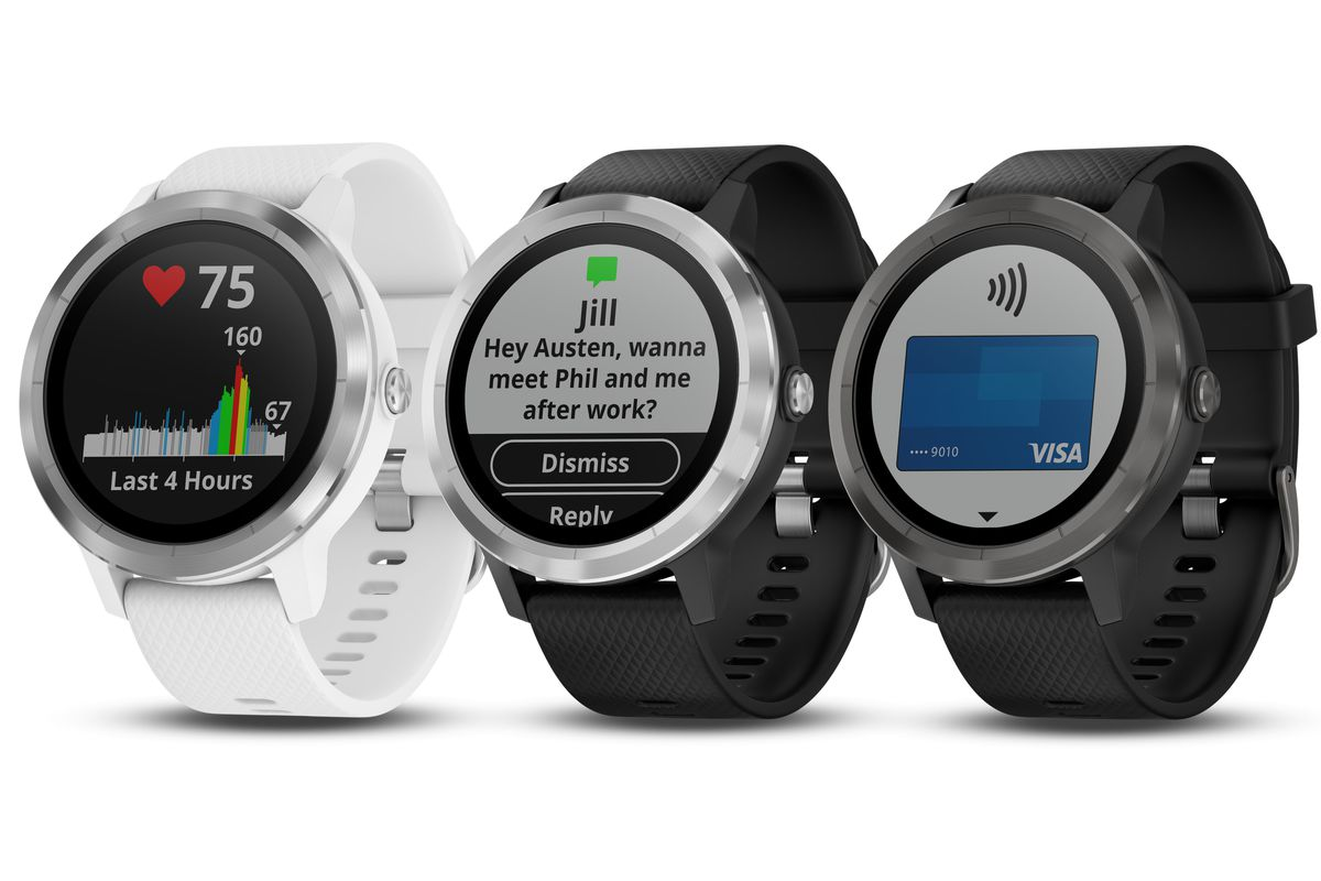 Garmin rounds out Vivo wearable line with Vivosport and Vivomove HR