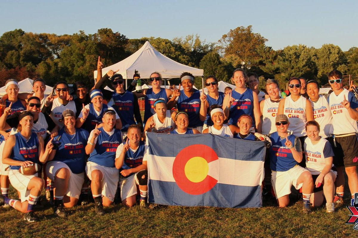 The Denver women have been dominating flag football.