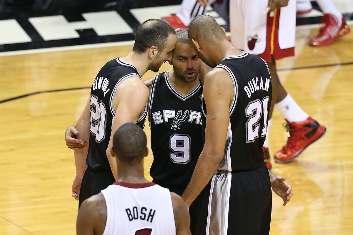 San Antonio Spurs v Miami Heat - Game One