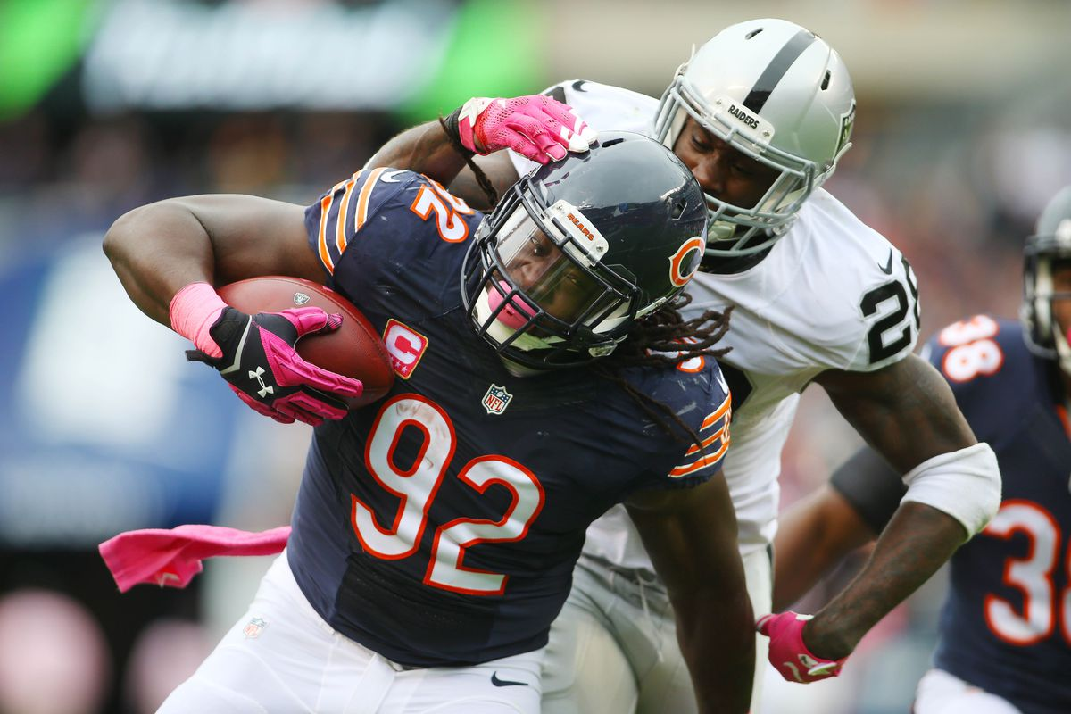 NFL: Oakland Raiders at Chicago Bears