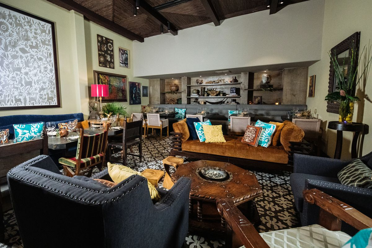 Step Inside Tulum Oak Lawn S New Resort Chic Dining