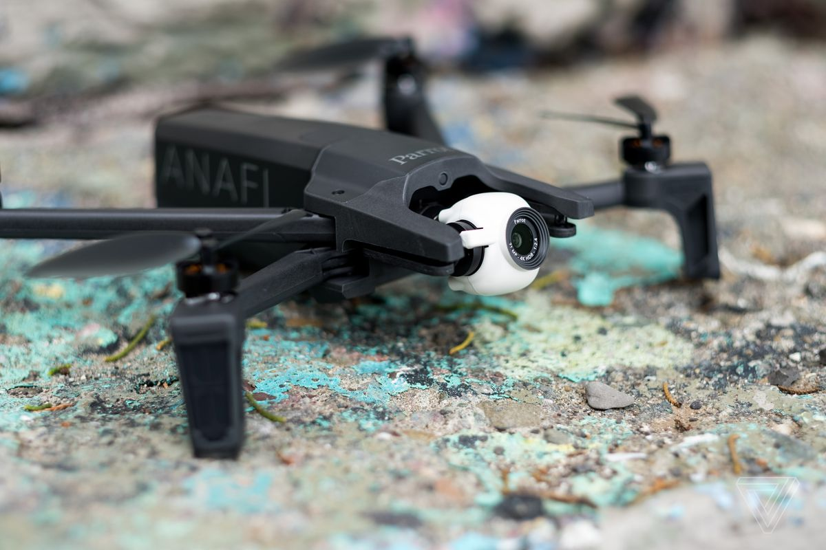 Parrot Anafi drone review: flying high, but falling short
