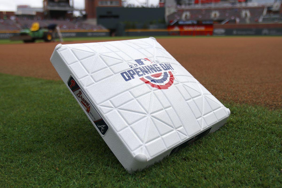 MLB: MAR 29 Phillies at Braves