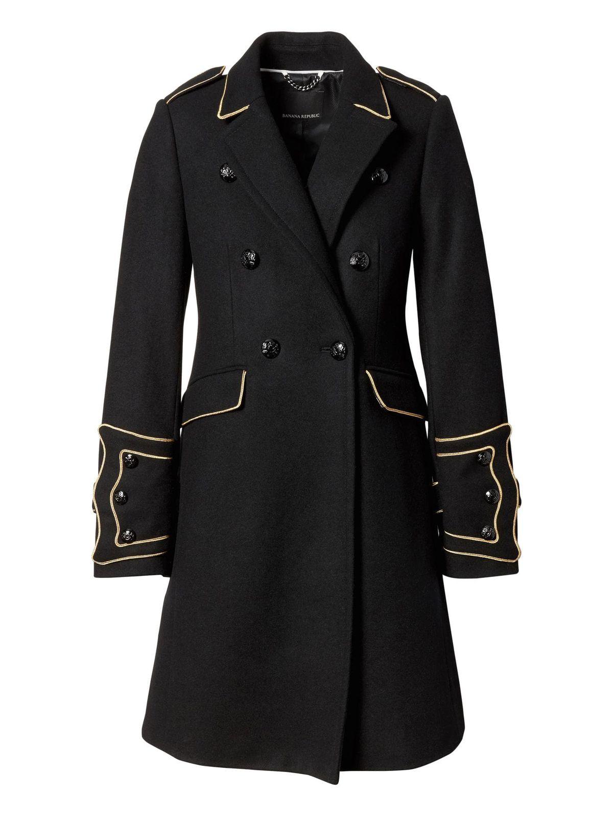 Banana Republic x Olivia Palermo Military Coat, $348