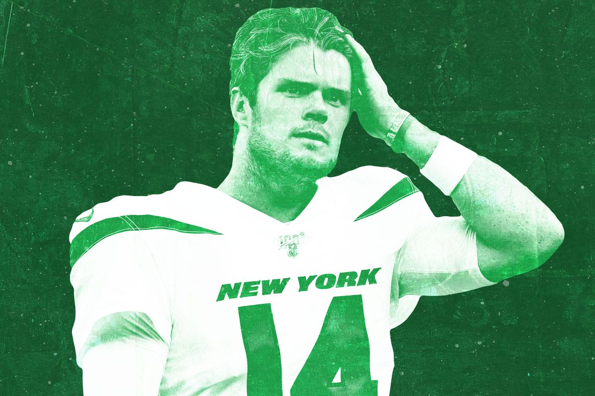 quality design d8813 e6e79 Sam Darnold Has Mono and This Jets Season Has Already Been ...