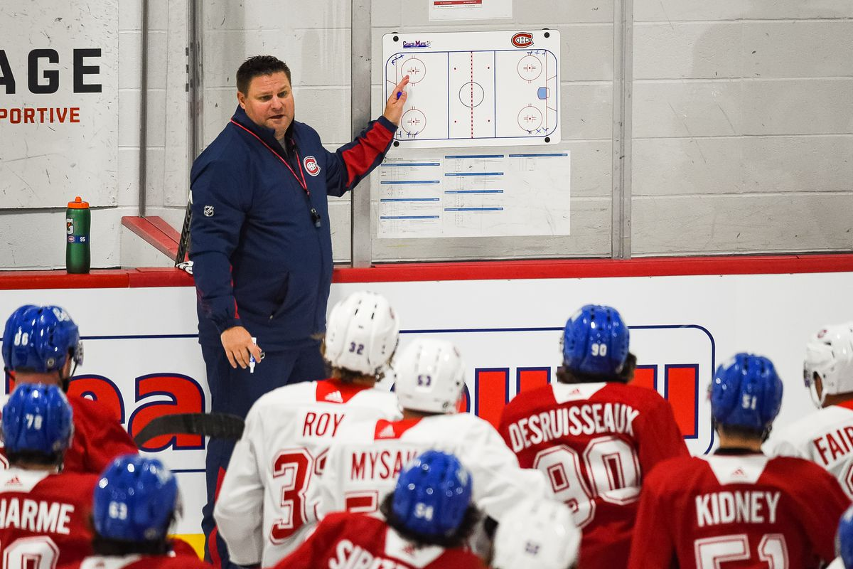 NHL: SEP 16 Canadiens Rookie Camp