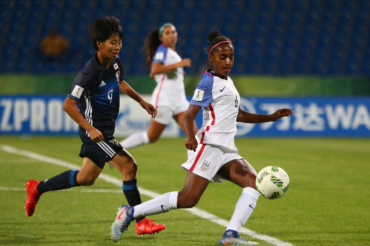 Japan v USA: Group D - FIFA U-17 Women's World Cup Jordan 2016