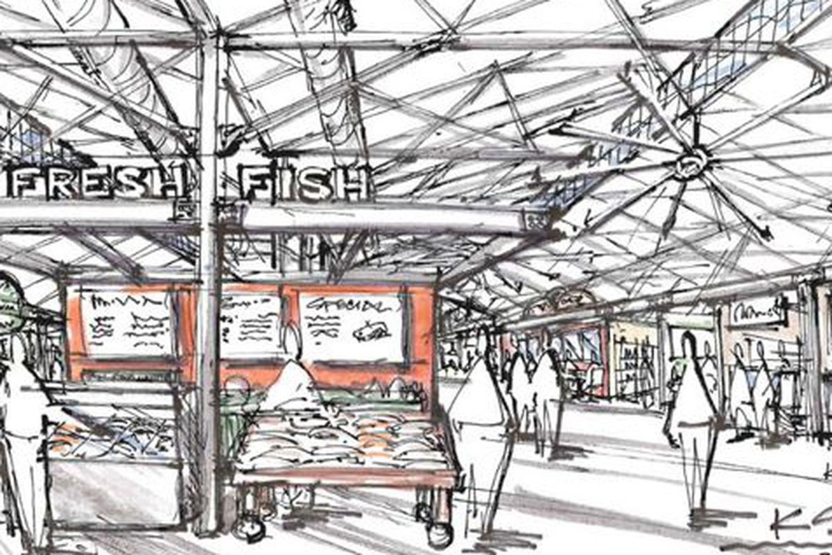 """Krog Street Market rendering via <a href=""""http://www.whatnowatlanta.com/2013/07/17/rendering-krog-street-market-signs-ford-fry-eli-kirshtein-five-others/"""">What Now Atlanta</a>"""