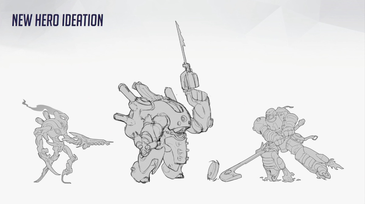 Official Mei Concept Art