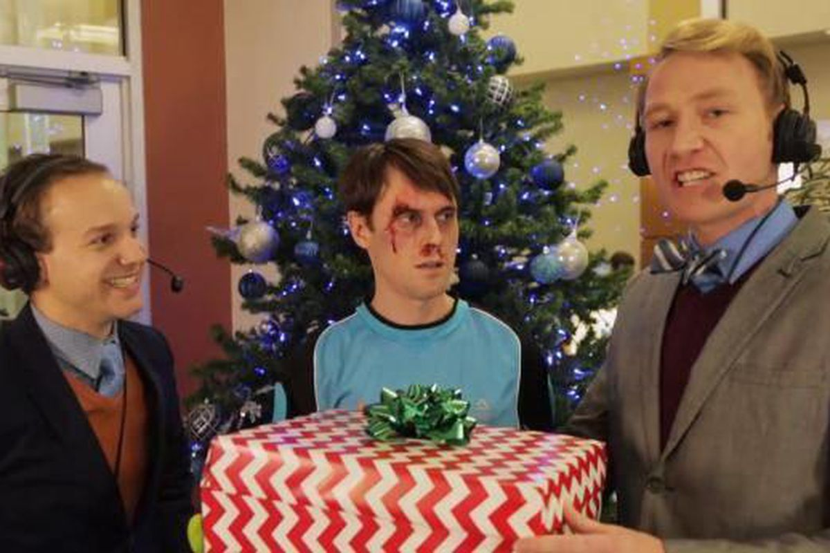 Studio C Christmas.The Clean Cut Studio C Viral Video Star Scott Sterling