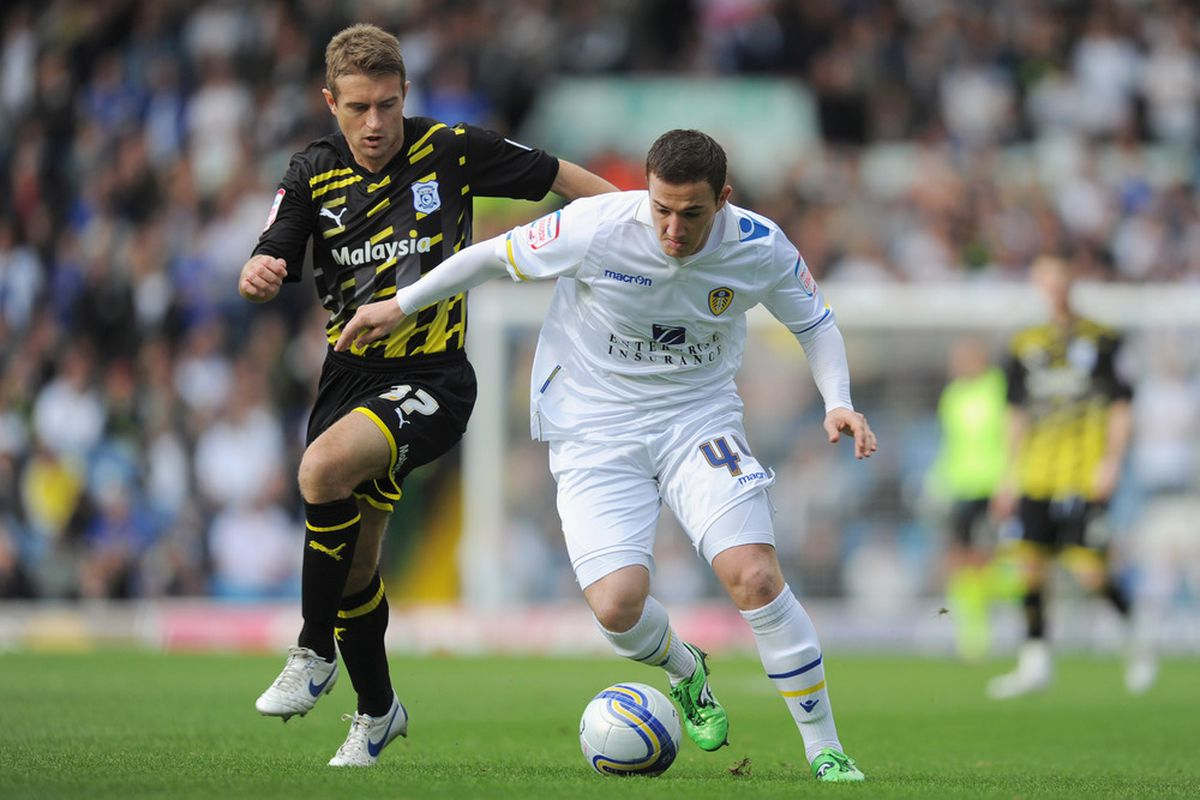 Ross McCormack has revealed that he would like to stay at Elland Road.  (Photo by Michael Regan/Getty Images)
