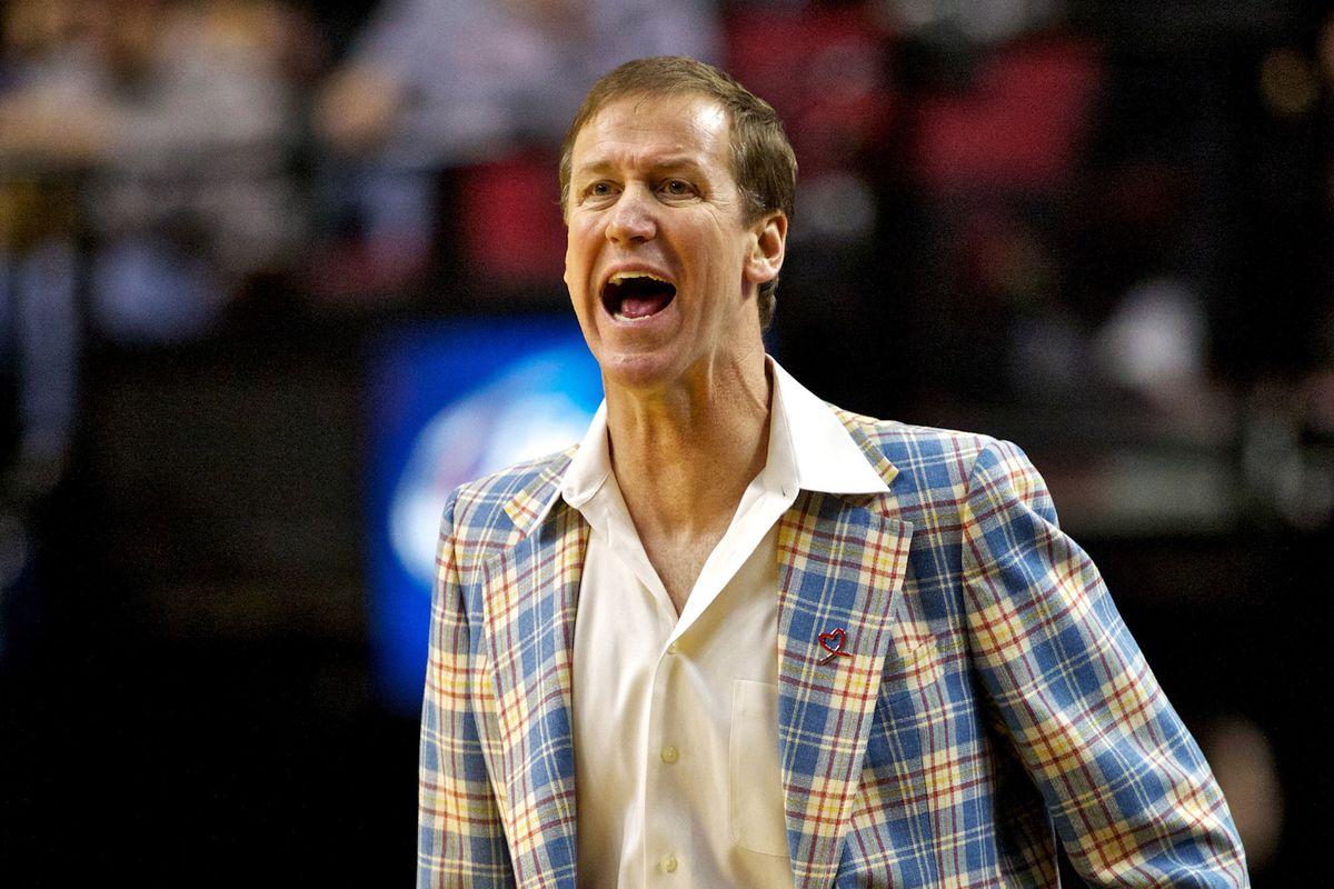 Still a better dressed coach than Tyrone Corbin