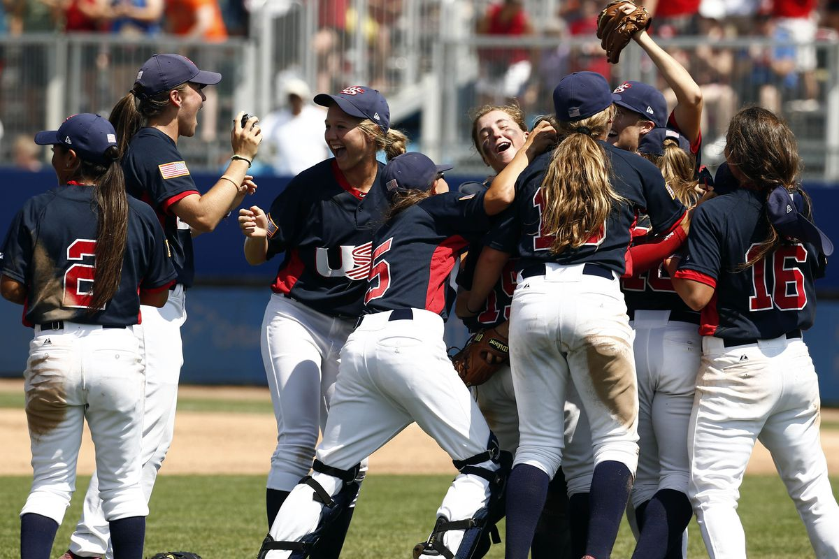 The U.S. won gold at the inaugural women's baseball event at this summer's Pan American Games in Toronto.
