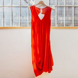 """Opposite dress, <a href=""""http://www.zeromariacornejo.com/#/shop/15_year_collection/opposite-dress-sch"""">$995</a>. Chosen by Cindy Sherman for the 15-year anniversary capsule collection."""