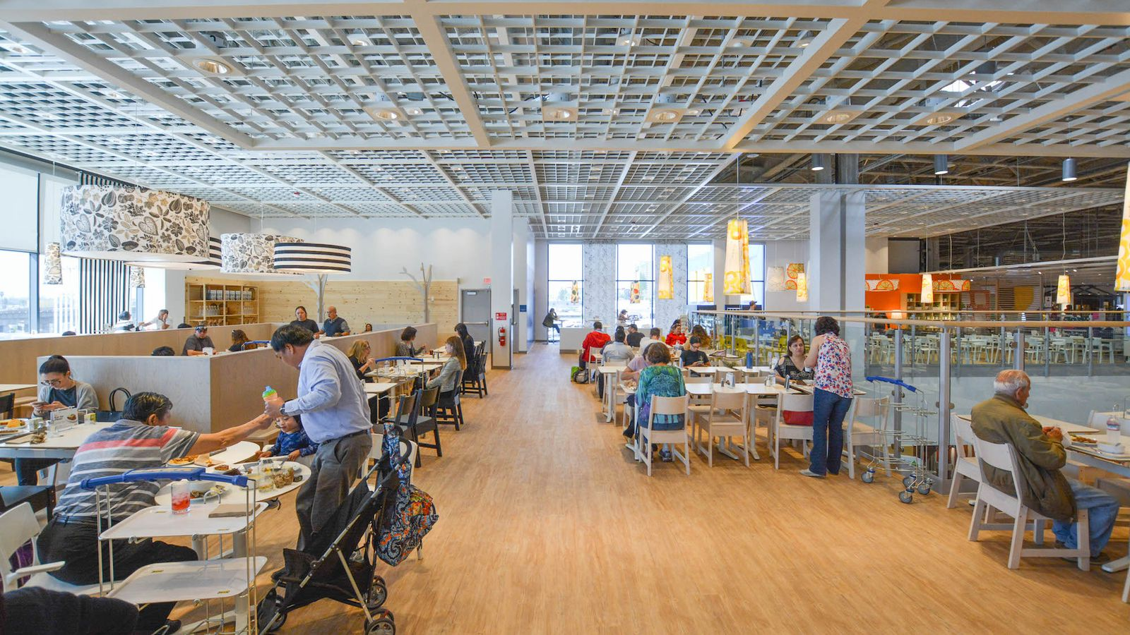 Inside The 600 Seat Madness Of America S Largest Ikea