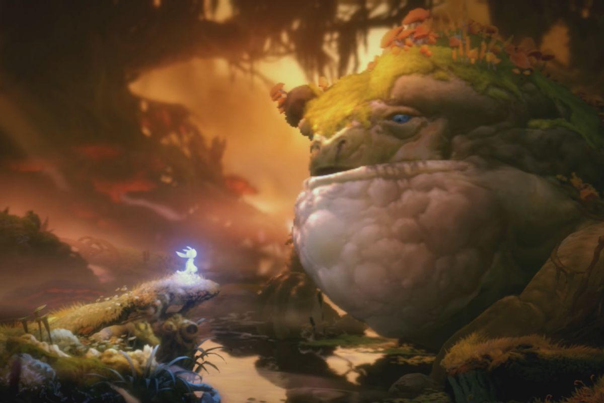 Ori and the Will of the Wisps Kwolok's Hollow map