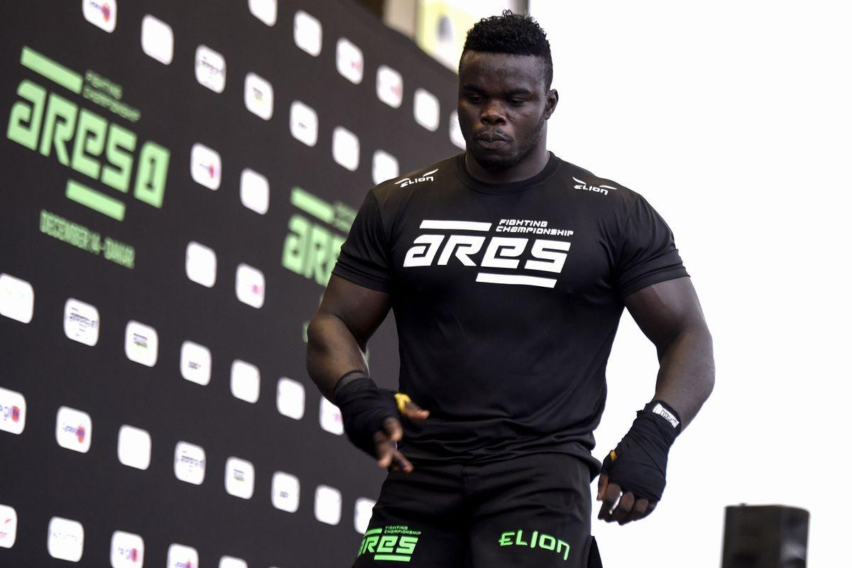 Oumar Kane, better known as Reug Reug, in 2019.