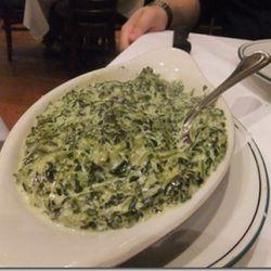 "Creamed spinach from Palm (<a href=""http://nycnomnom.com/2011/11/15/the-palm/"" rel=""nofollow"">NYC Nom Nom</a>)"
