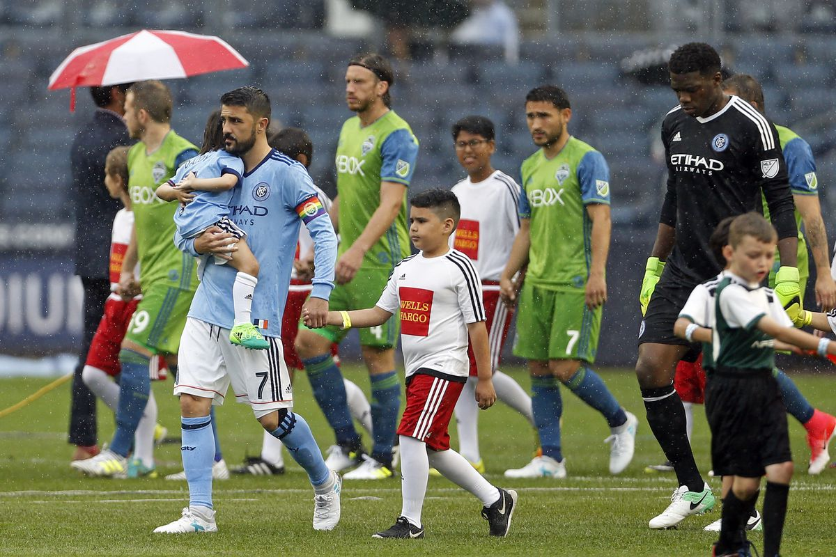 MLS: Seattle Sounders FC at New York City FC