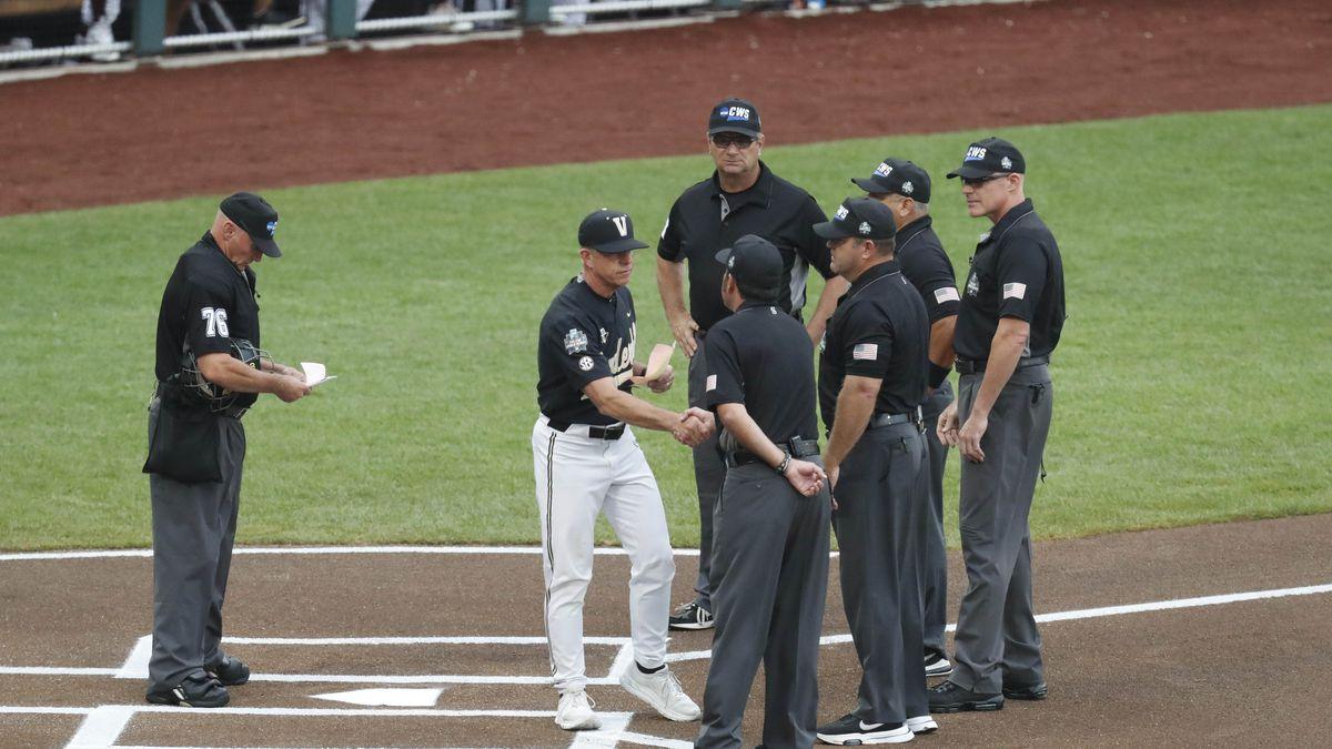 NCAA Baseball: College World Series-Mississippi State v Vanderbilt
