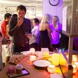 Saturday night's W/Food Republic afterparty in the TRACE kitchen // photo by Patrick Michels