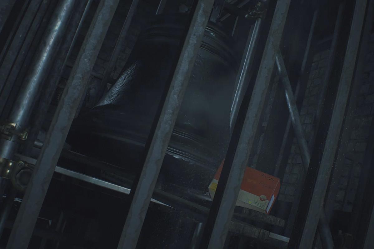 Resident Evil 2 Leon STARS Office (Lightning Hawk) and Clock