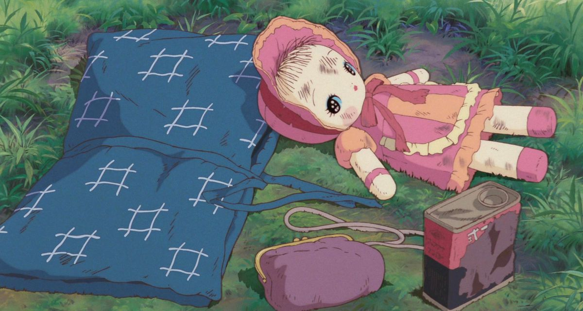 setsuko's doll in grave of the fireflies