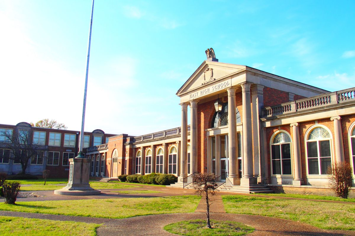 """East High School opens this fall as an all-optional """"T-STEM"""" school for ninth graders."""