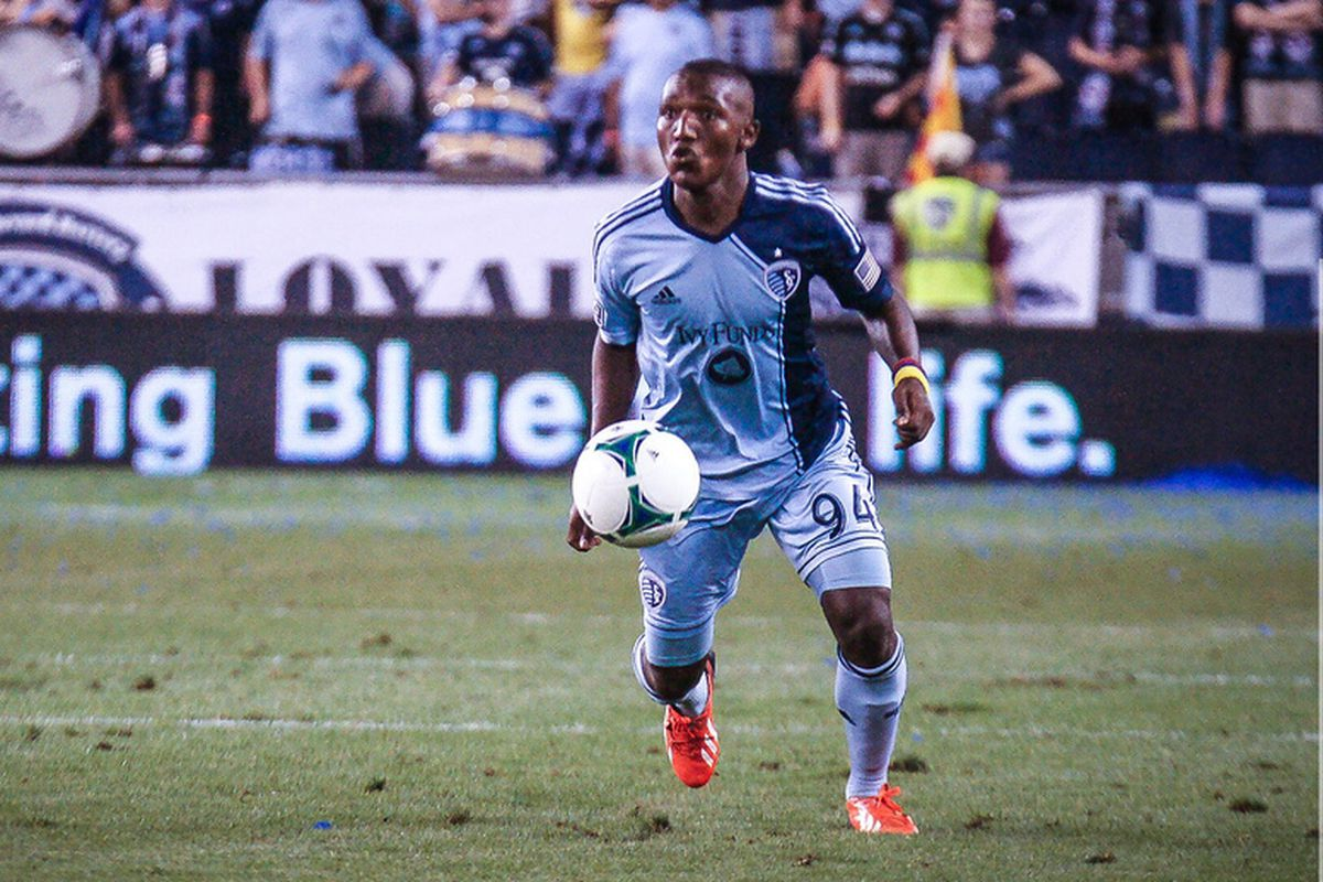 Medranda appears to be re-signed with Sporting KC.
