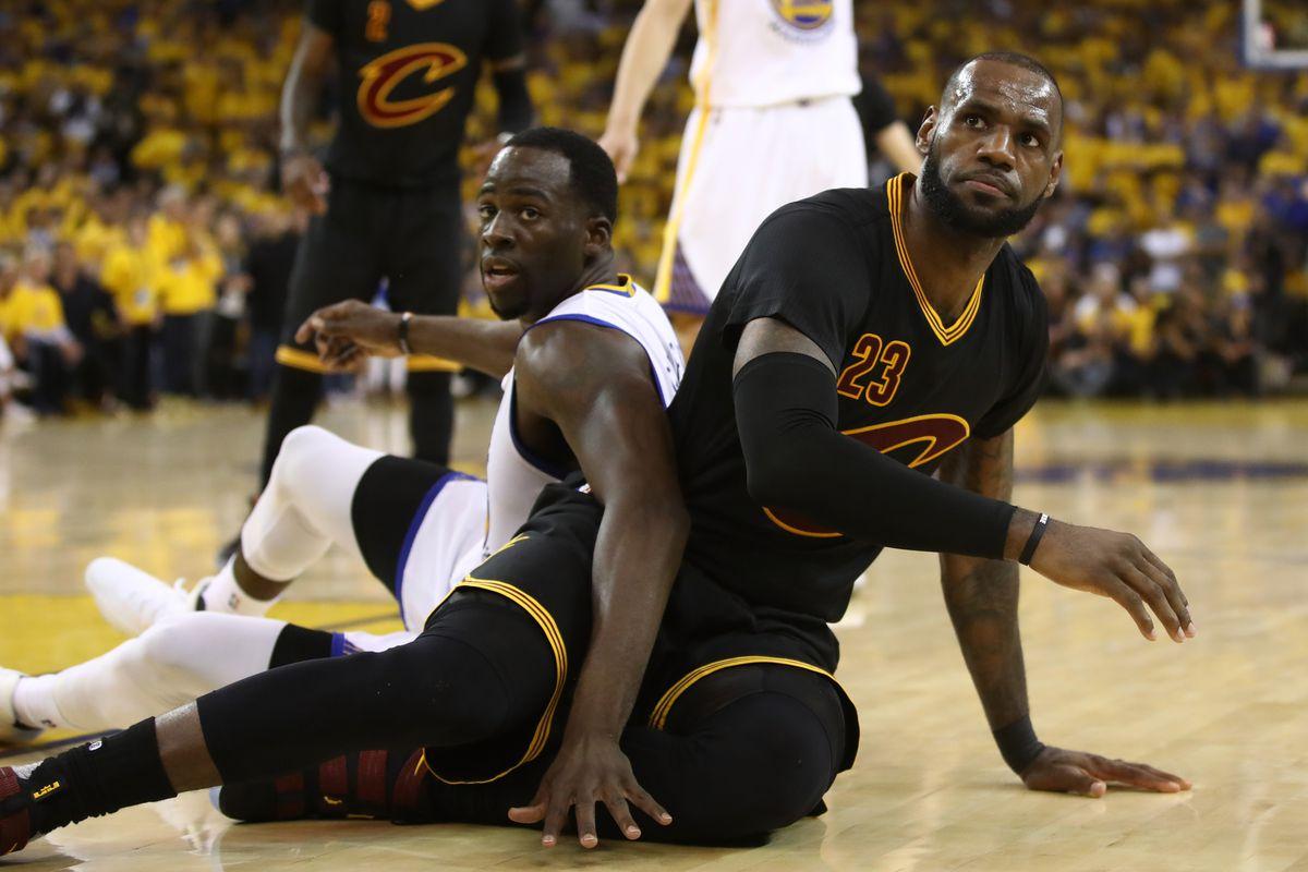 fdc20c042aa2 NBA news  Warriors  Draymond Green trolls Cavaliers  LeBron James ...