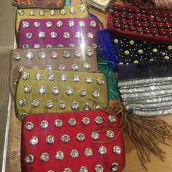 Tracy Reese clutches, $50