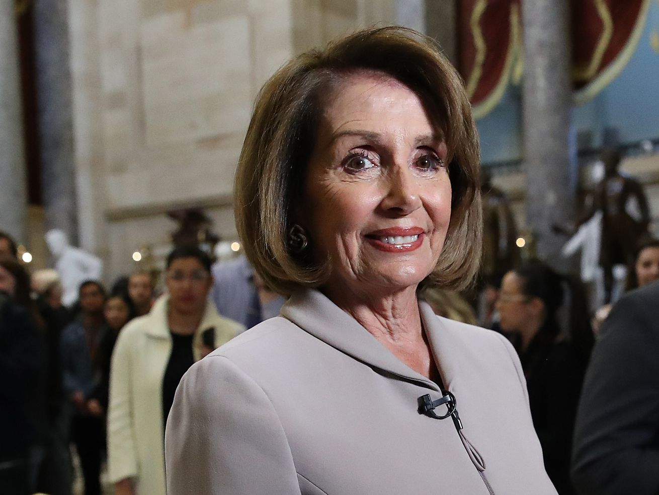 House Democratic Leader Nancy Pelosi