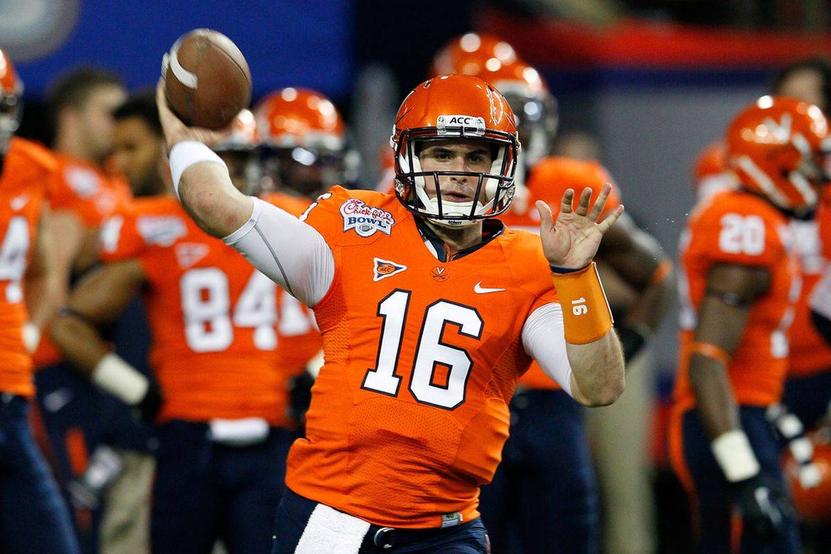 Uva Football Depth Chart Released Michael Rocco To Start At