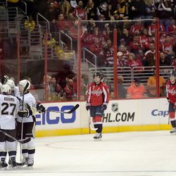 Penguins Celebrate Sutter Shorty