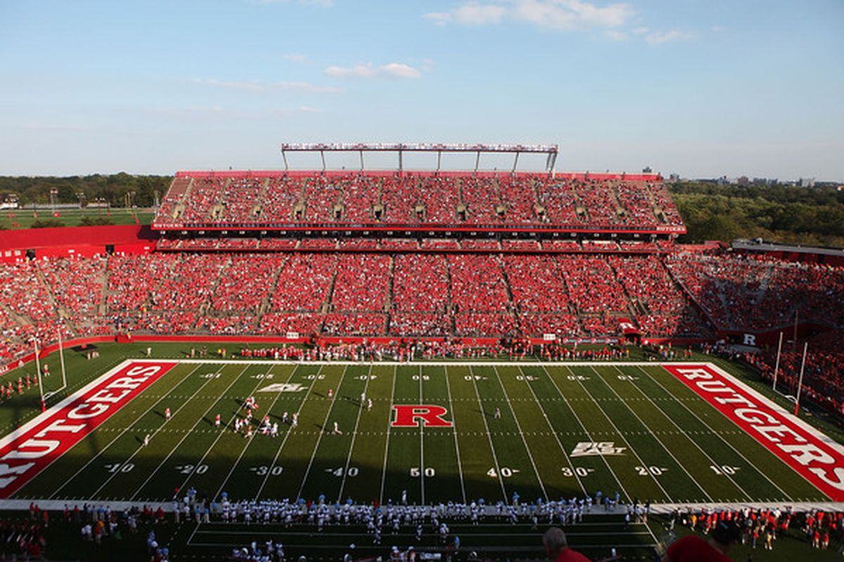 """Rutgers Stadium, the """"Birthplace of College Football"""""""