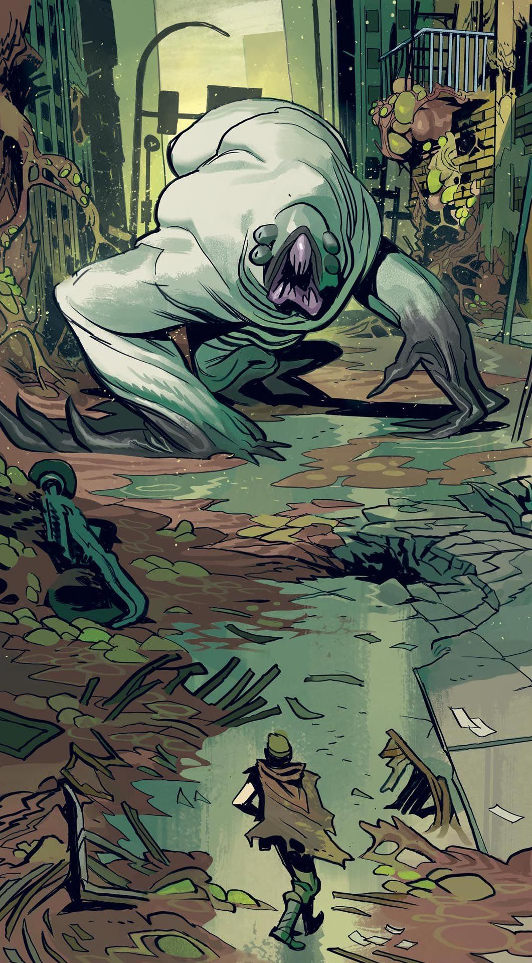 Oblivion Song #1 - coming across a giant four-eyed monster