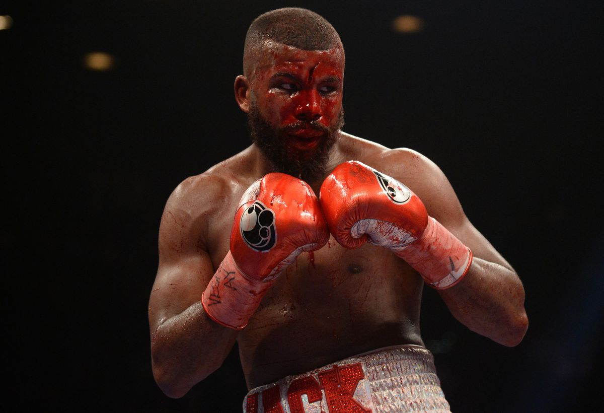 Graphic Video: Badou Jack suffered one of the nastiest, bloodiest cuts you'll ever see