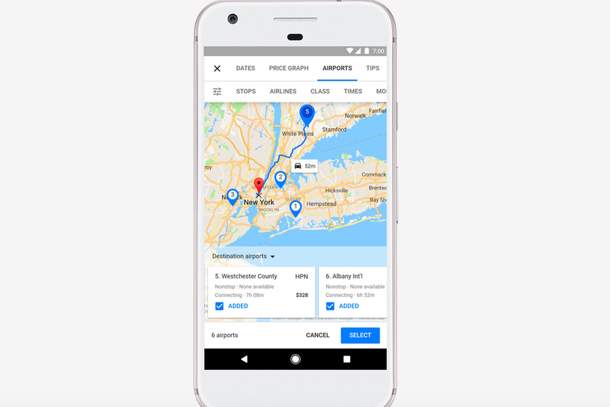 Google Now Offers More Money Saving Options When Youre Trip - Google trip planner map