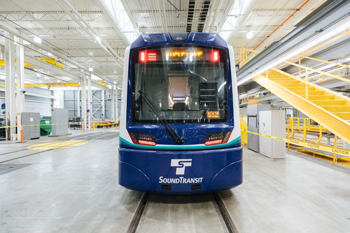 Take A First Look At Sound Transit S New Light Rail Trains