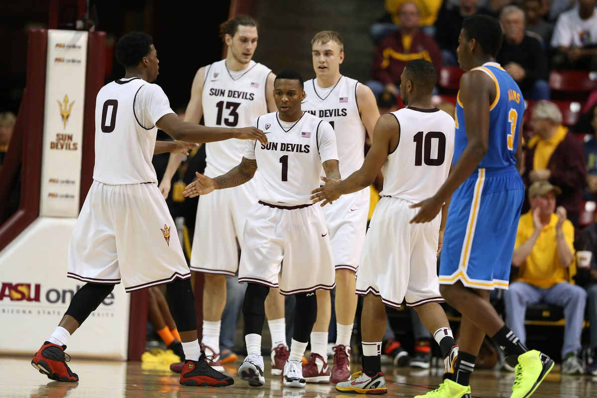 High fives and celebrations are the norm for Arizona State these days.