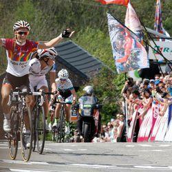 Pauline Ferrand-Prévot wins the 2014 Flèche Wallonne