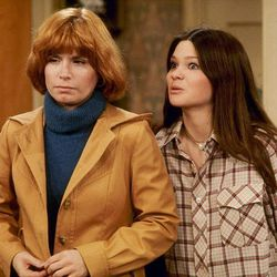 """Bonnie Franklin, left, and teenage Valerie Bertinelli star in """"One Day at a Time."""" The complete series is now on DVD."""