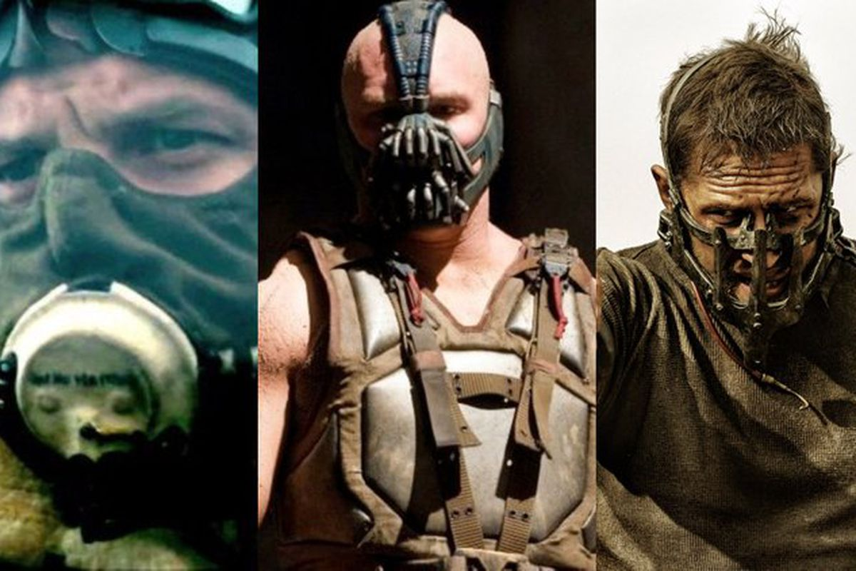 10 Reasons Tom Hardy Always Wears Something Over His Mouth Funny Or Die