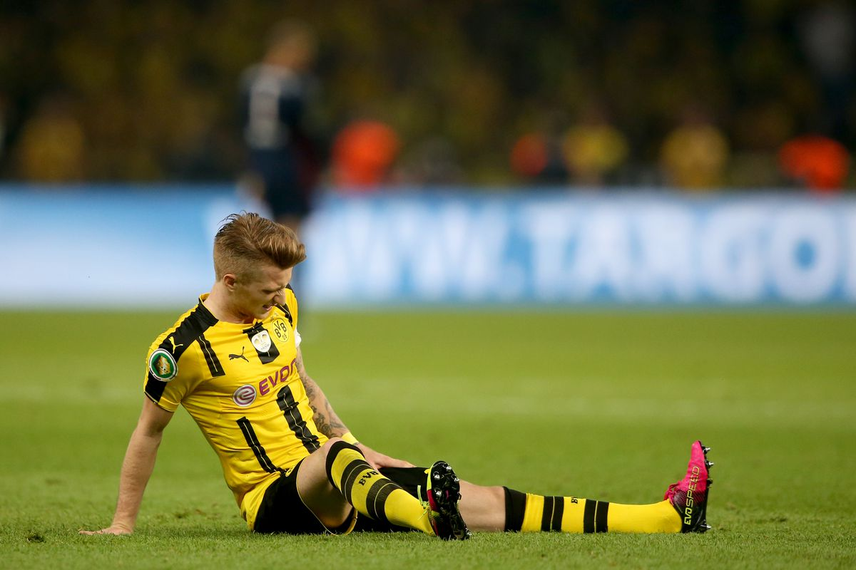 Image result for reus injured