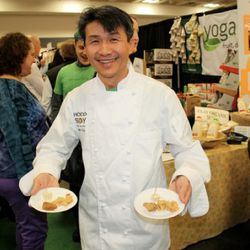 Various soy products from Oakland-based Hodo Soy Beanery were surprisingly tasty.