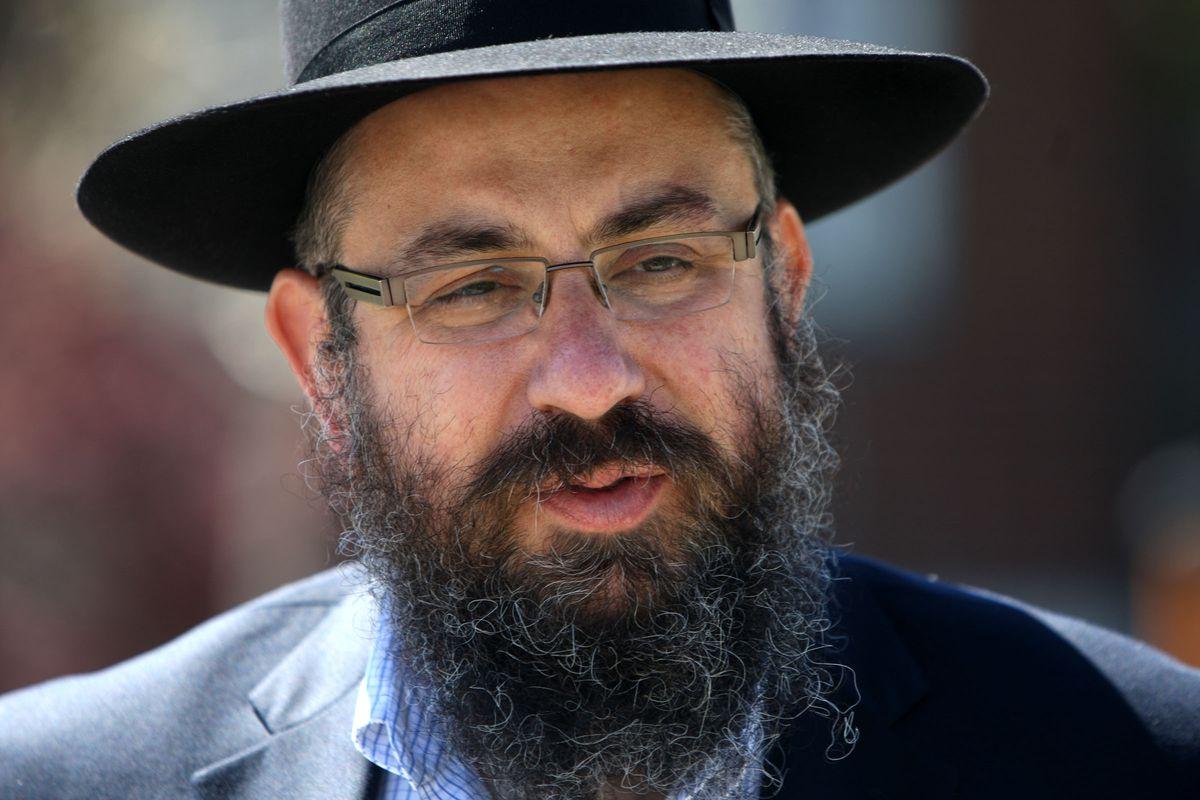 Rabbi Benny Zippel pictured in April 14, 2014, in Salt Lake City.
