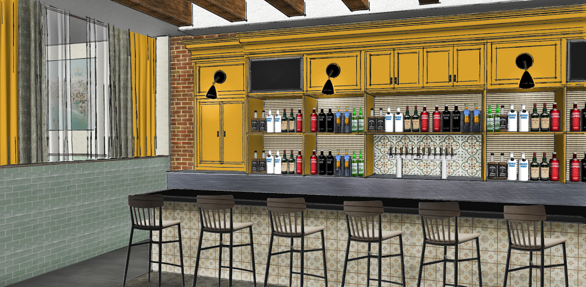A Rendering Of The Future Bar At San Lorenzo Swatchroom Official