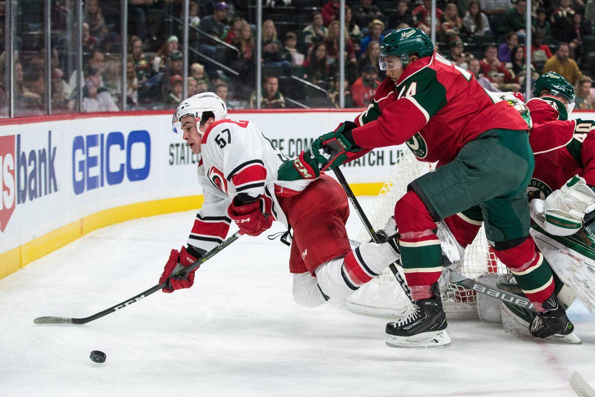 NHL: Preseason-Carolina Hurricanes at Minnesota Wild