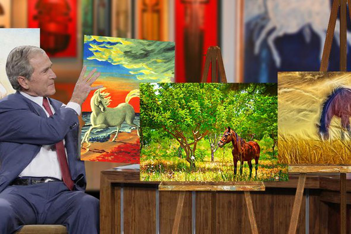If Trump Eliminates The NEA, Who Will Fund My Horse Painting Exhibit