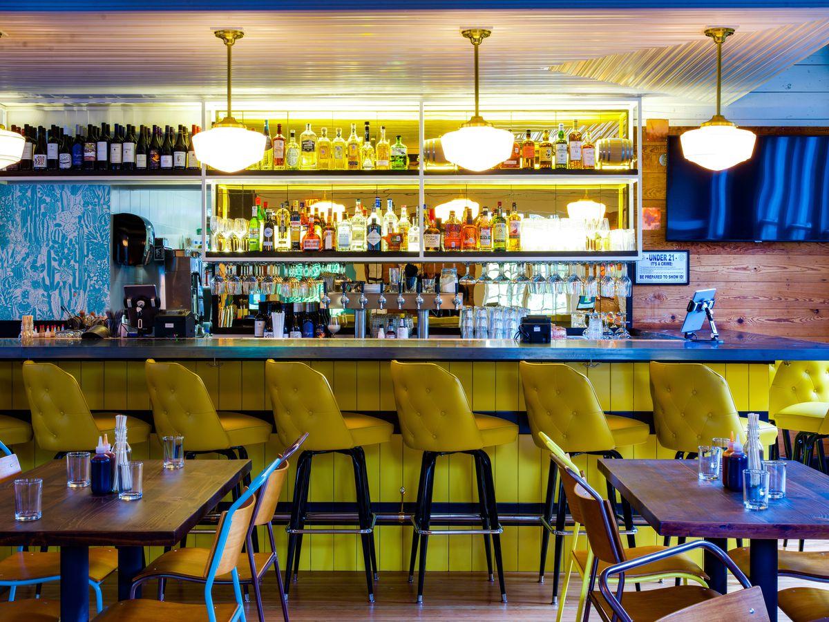 The bar at Bar Peached